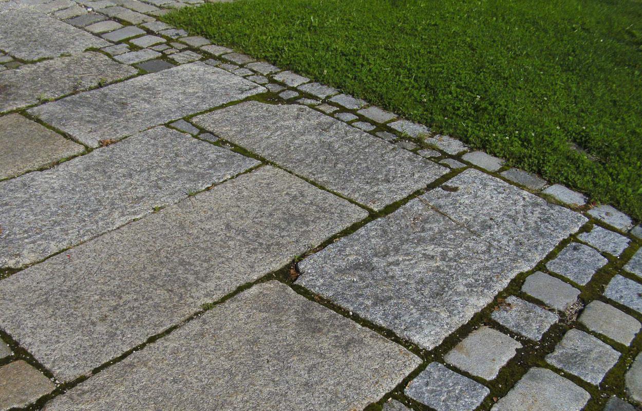 deutsches granitpflaster - granit und gebrauchte pflastersteine aus